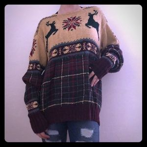 RARE Hand Knit Polo by Ralph Lauren Sweater